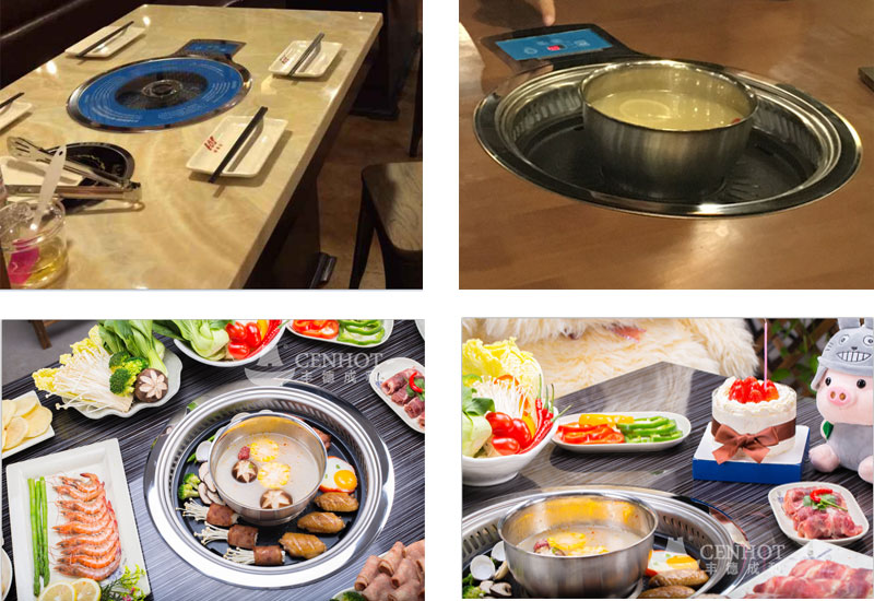 The-Hot-Pot-And-Barbucue-Grill-on-the-table-CENHOT