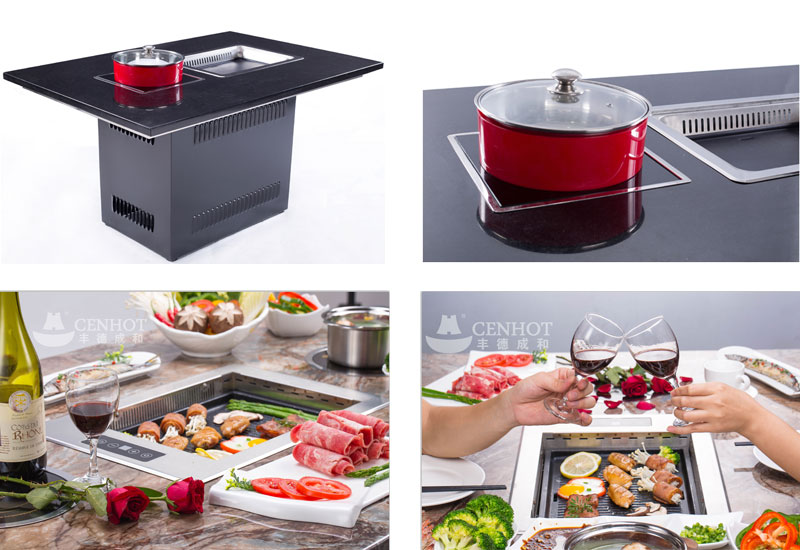 The-Commercial-Korean-BBQ-Grill-on-the-table-CENHOT