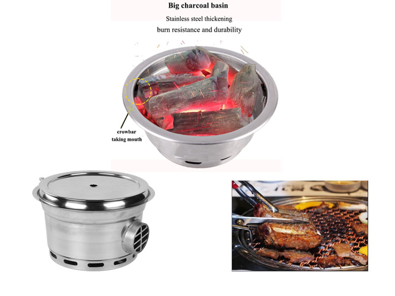 CENHOT-Hot-Sales-Smokeless-Korean-Charcoal-Grill-burns-resistance-and-durability---CH-B-MT3