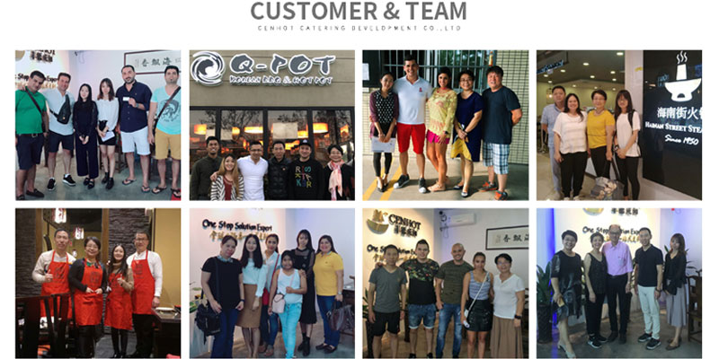 CENHOT CUSTOMERS
