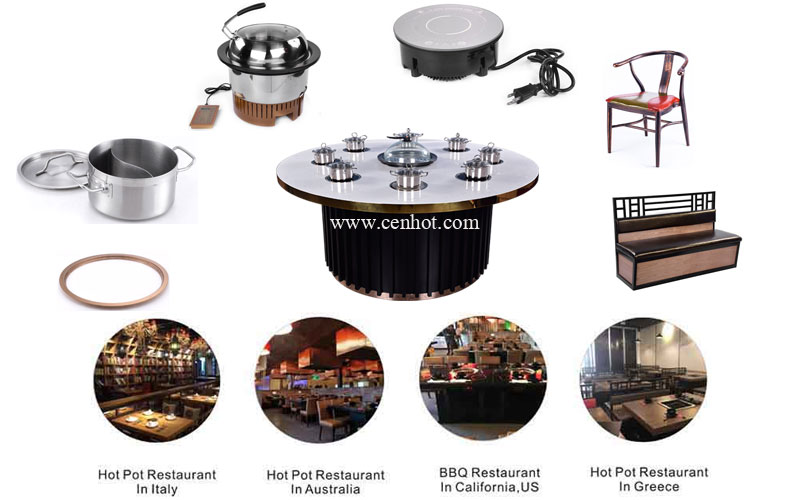 Shabu Shabu And Steam Hot Pot restaurant equipment - CENHOT