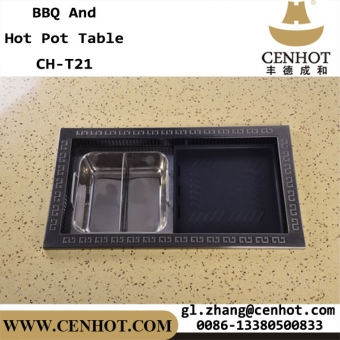 CENHOT Korean BBQ y Hot Pot Tables para restaurante a la venta